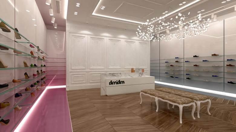 elektrik mağazası tasarımları 2017 Deriden Konsept Perakende