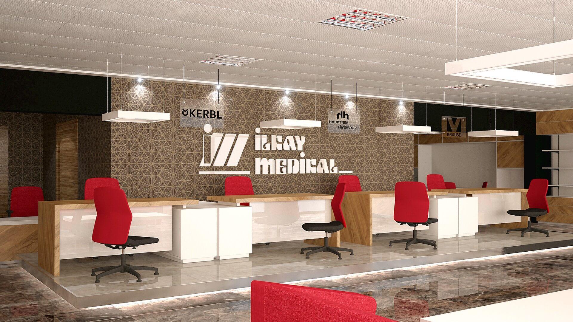 Mağaza Tasarımları ve İçmimari Dekorasyonu İlkay Medikal