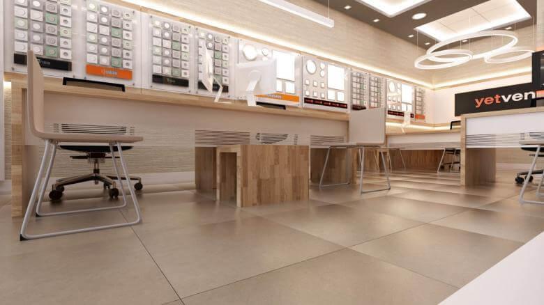 dükkan tasarımı 2033 Yetven Elektrik / Ulus Perakende