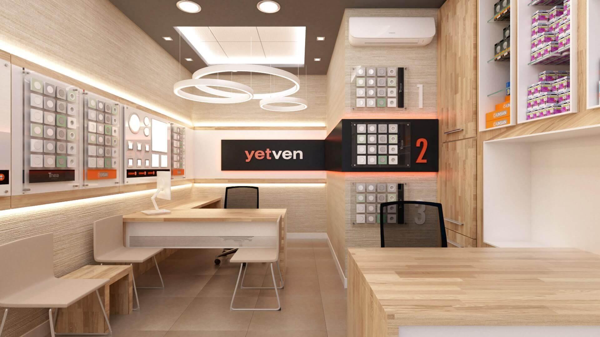 dükkan tasarımı 2034 Yetven Elektrik / Ulus Perakende