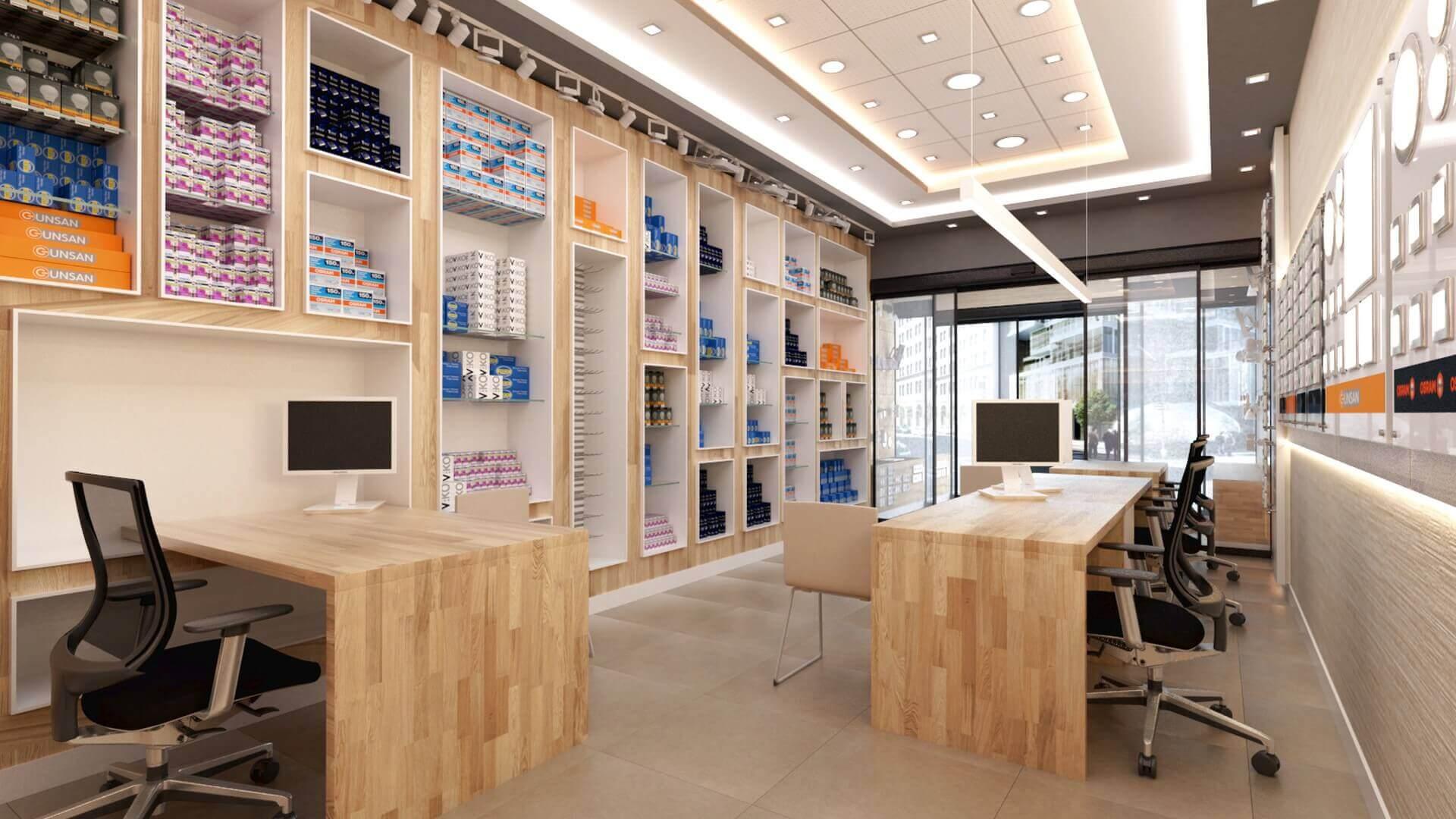 dükkan tasarımı 2037 Yetven Elektrik / Ulus Perakende