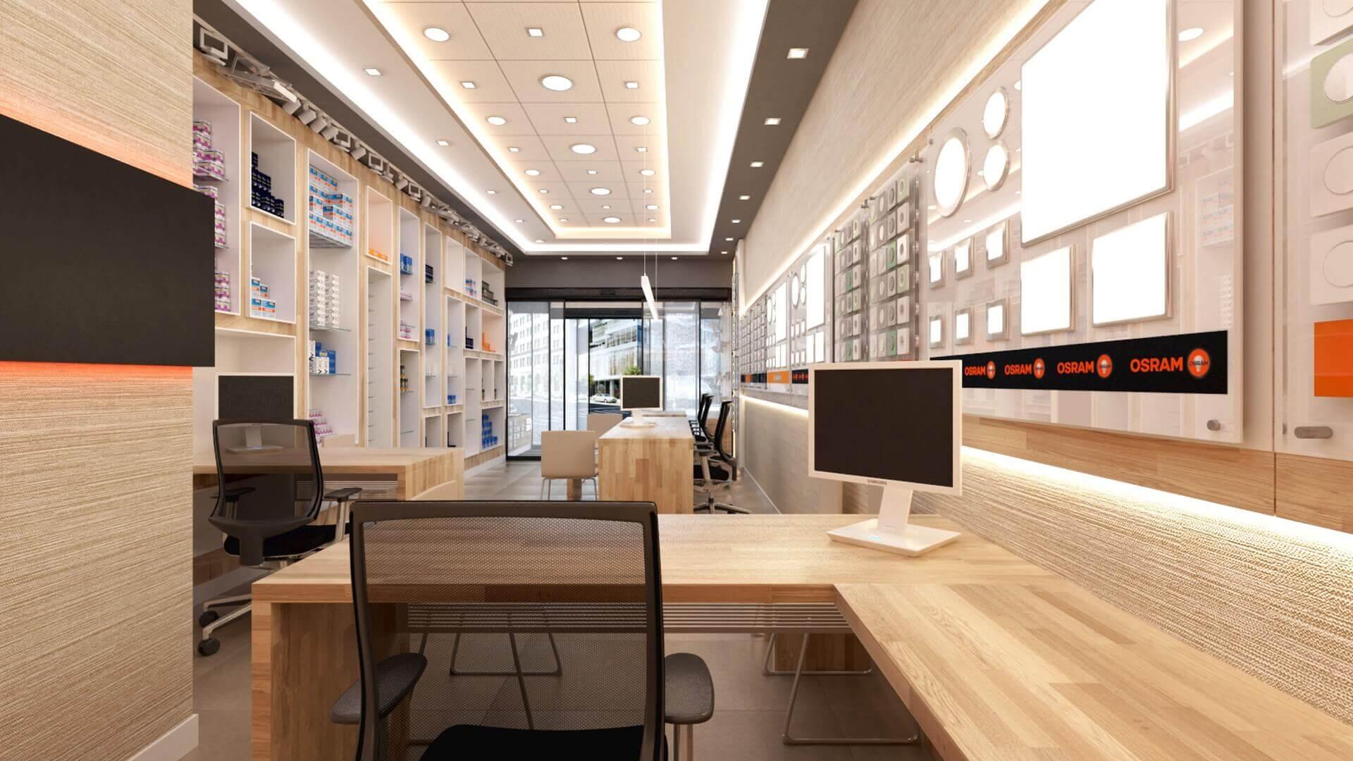 elektrik mağazası tasarımları 2038 Yetven Elektrik / Ulus Perakende