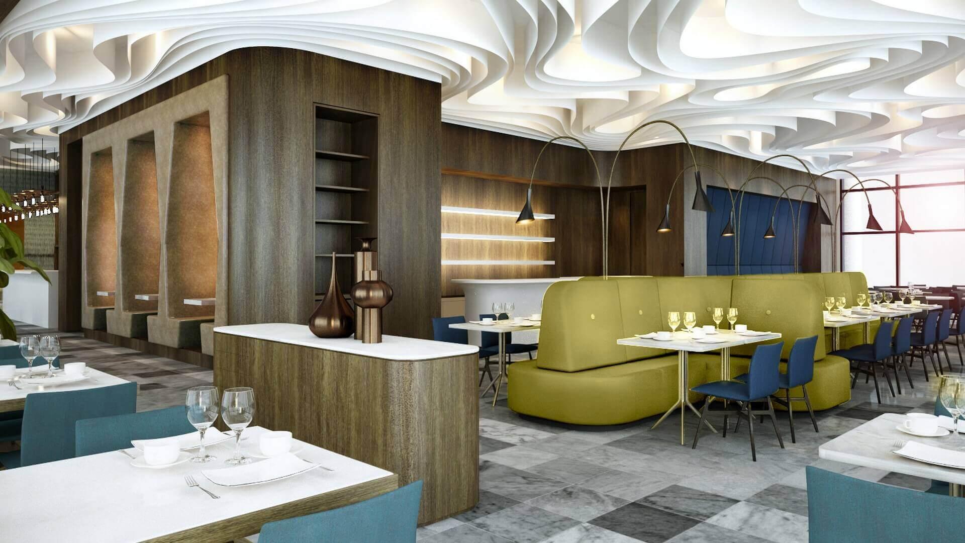 restorant iç mimar 2052 Tiflis Steakhouse Restoranlar