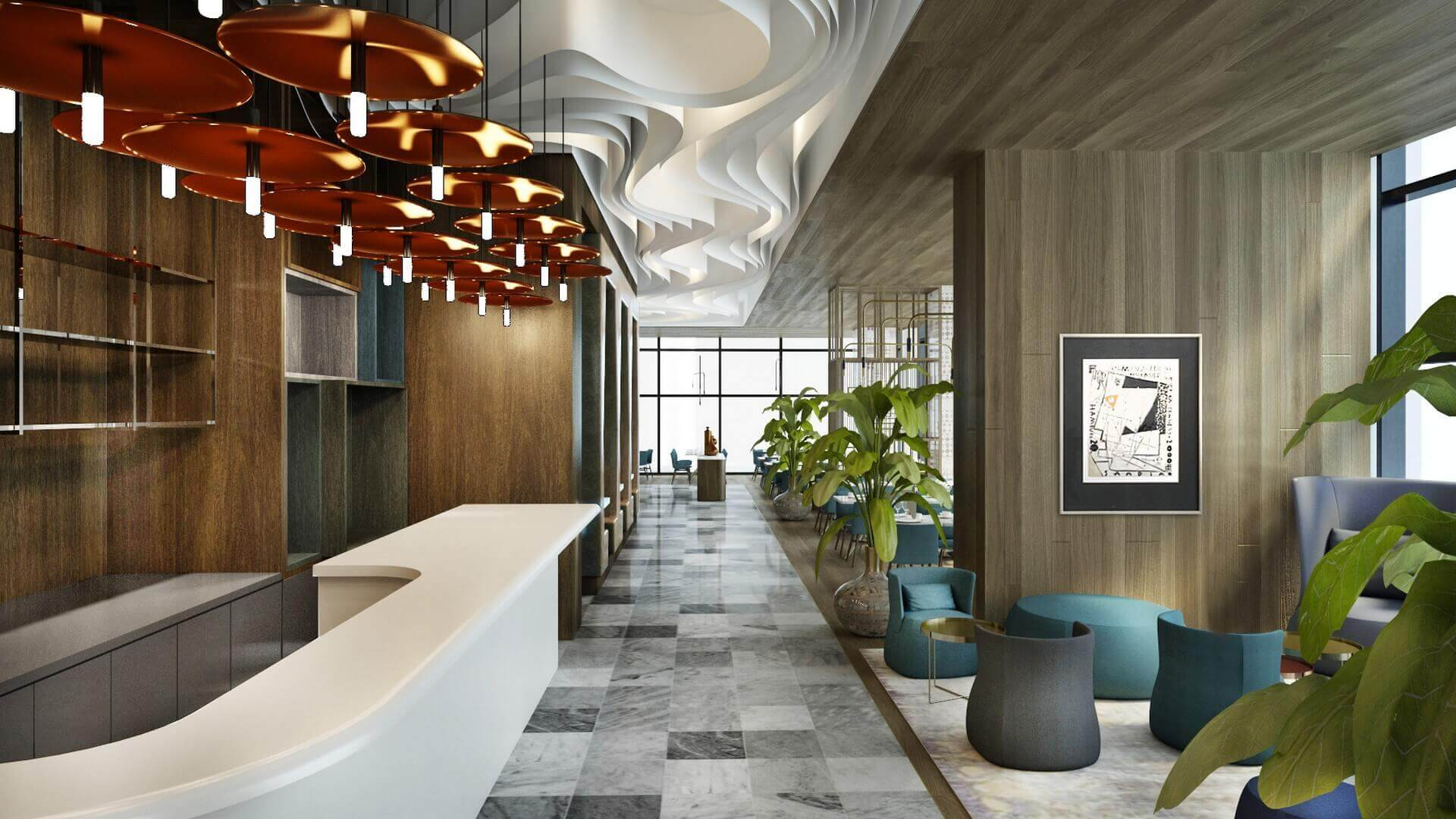 restorant iç tasarım 2054 Tiflis Steakhouse Restoranlar
