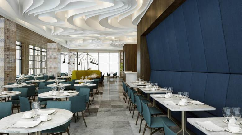 restorant iç tasarım 2055 Tiflis Steakhouse Restoranlar