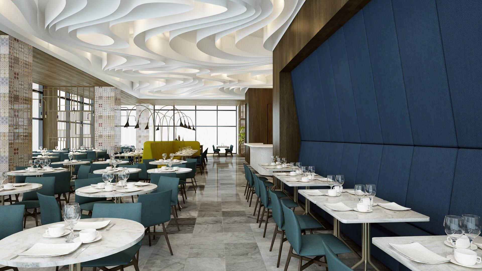 Restoran, Cafe, Fast-food Mimari Projeler Tiflis Steakhouse