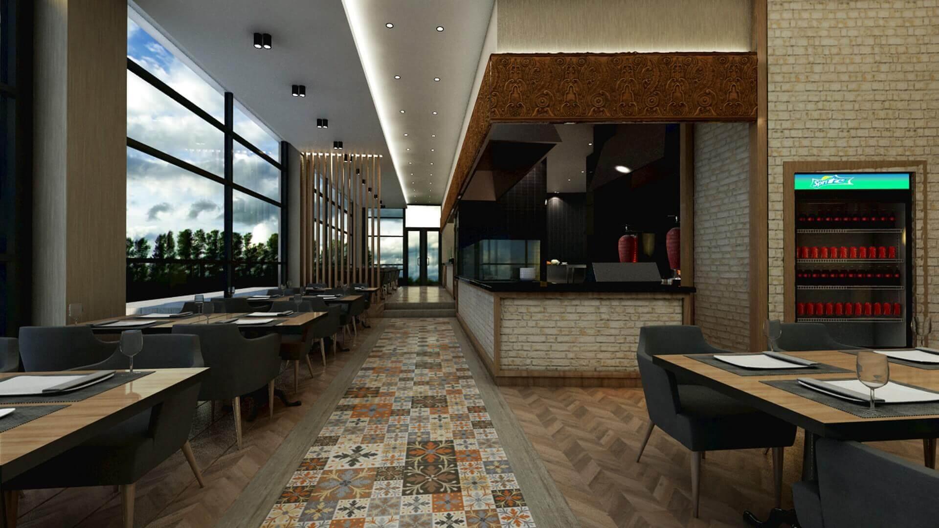 restoran tasarımı 2065 Otonomi Restoran Restoranlar