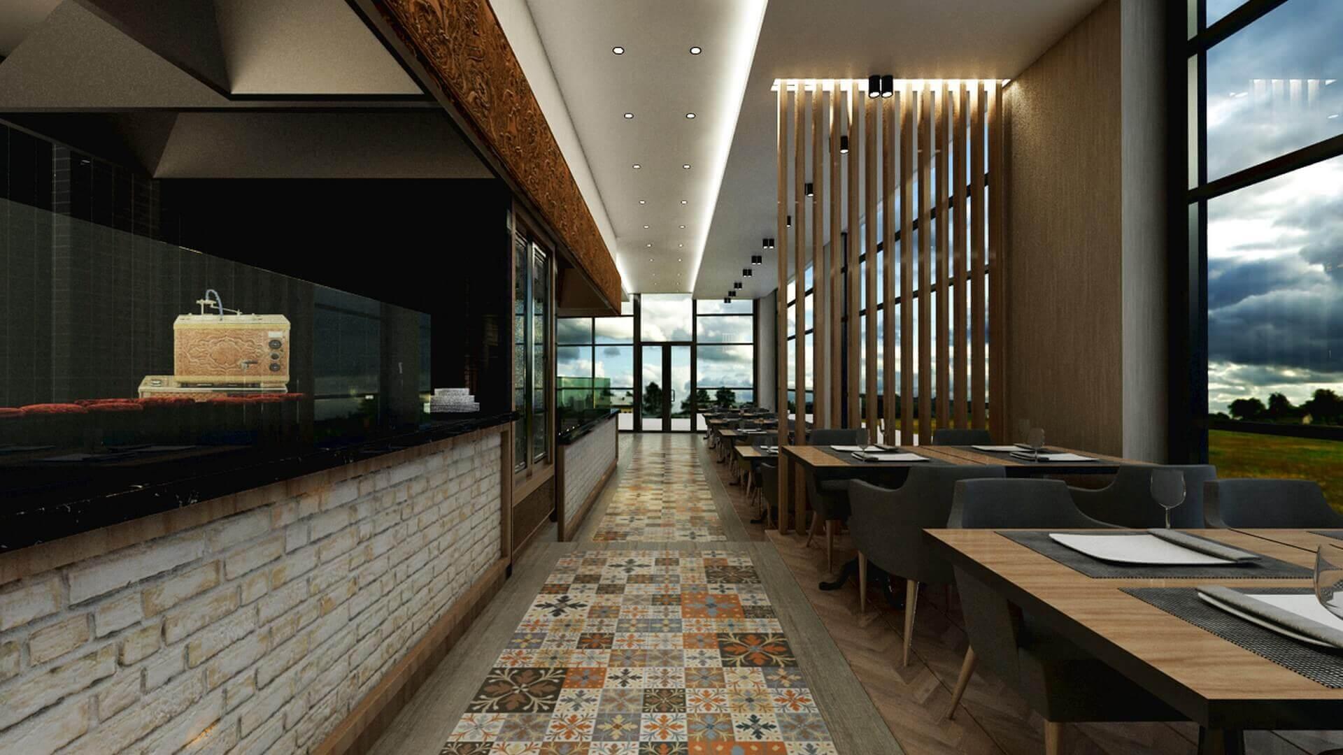 restorant iç tasarım 2066 Otonomi Restoran Restoranlar