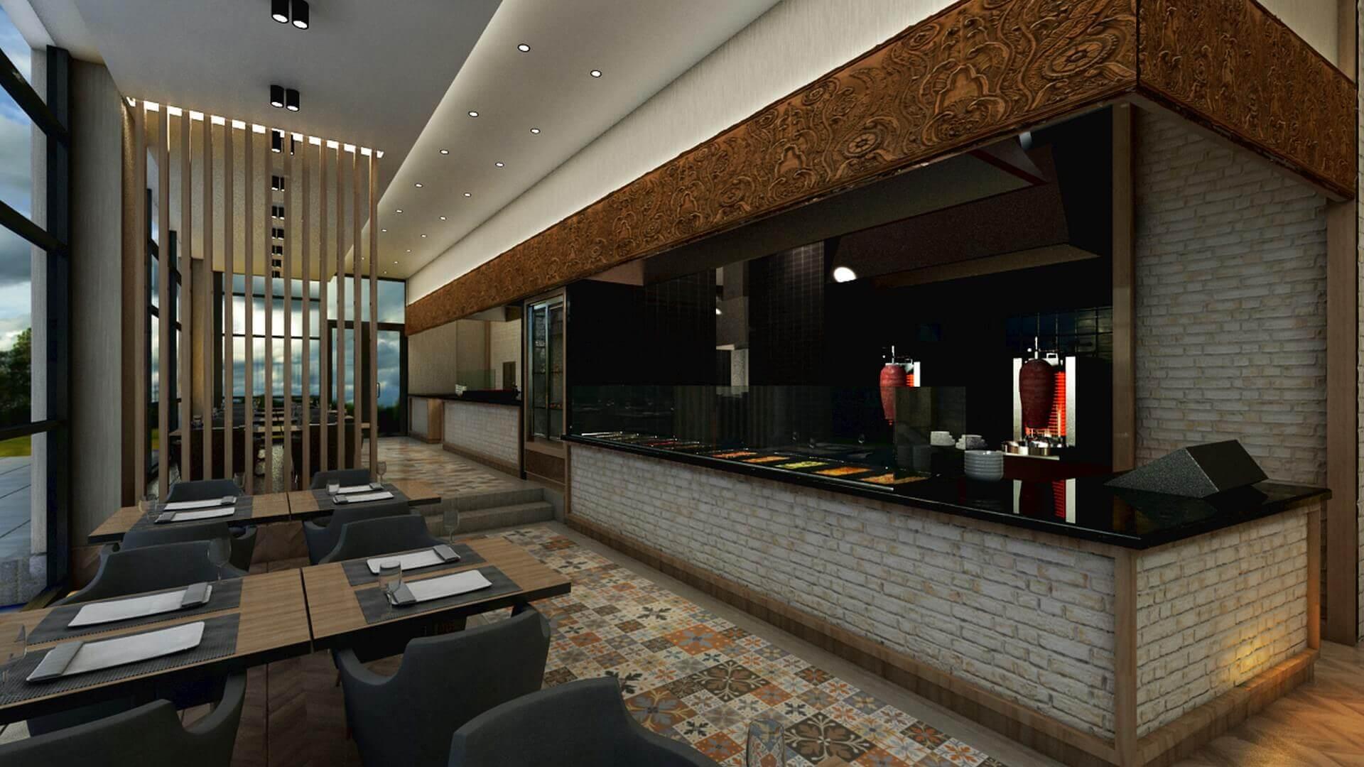restorant iç mimar 2067 Otonomi Restoran Restoranlar