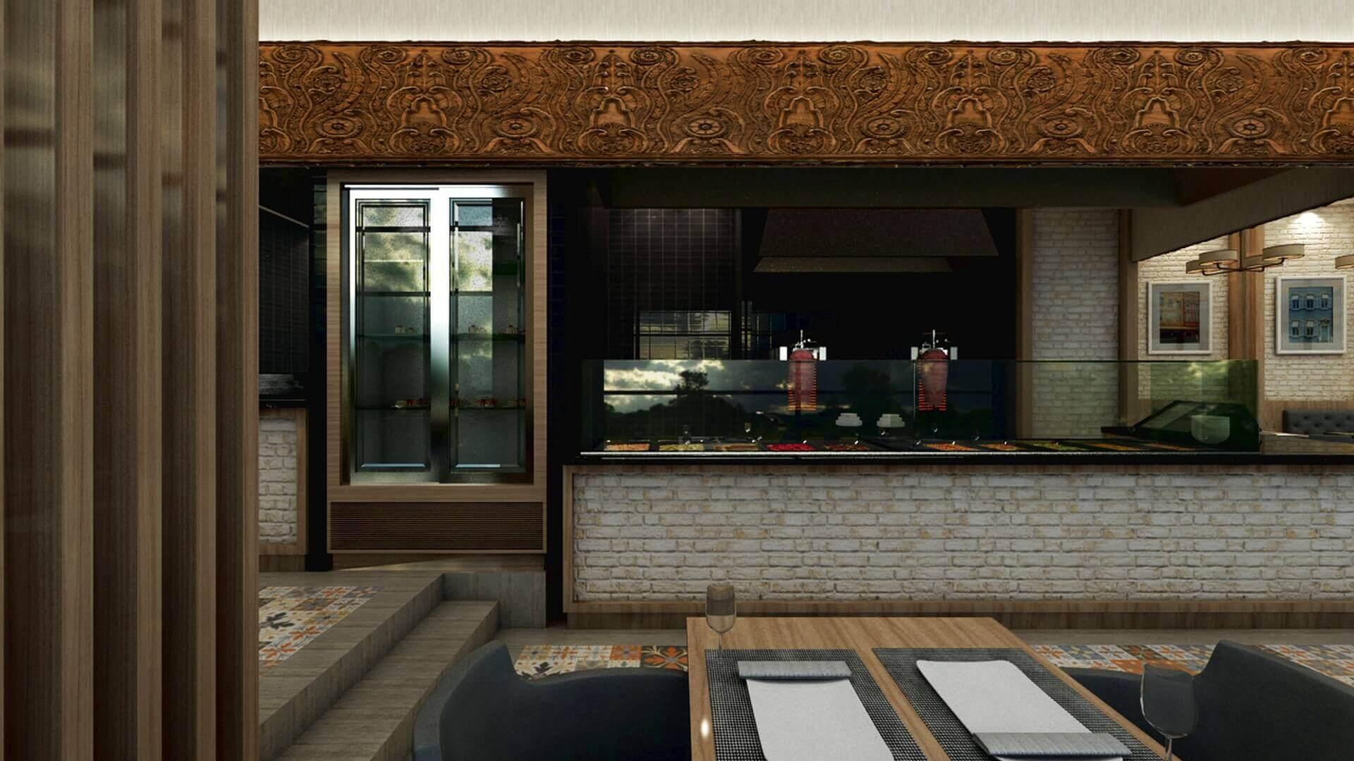 restorant iç tasarım 2068 Otonomi Restoran Restoranlar