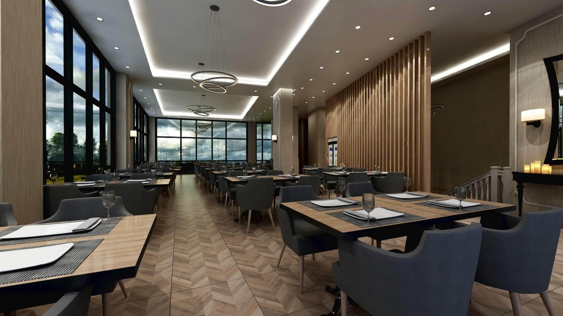 restoran tasarımı 2075 Otonomi Restoran Restoranlar