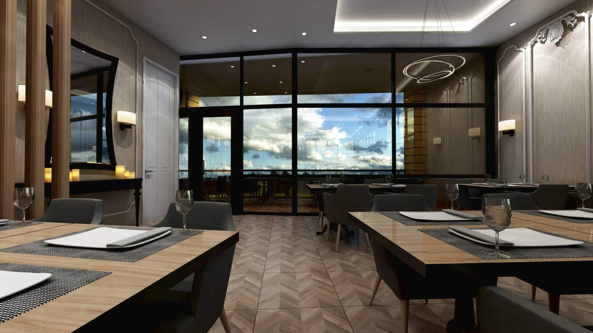 restorant iç tasarım 2078 Otonomi Restoran Restoranlar