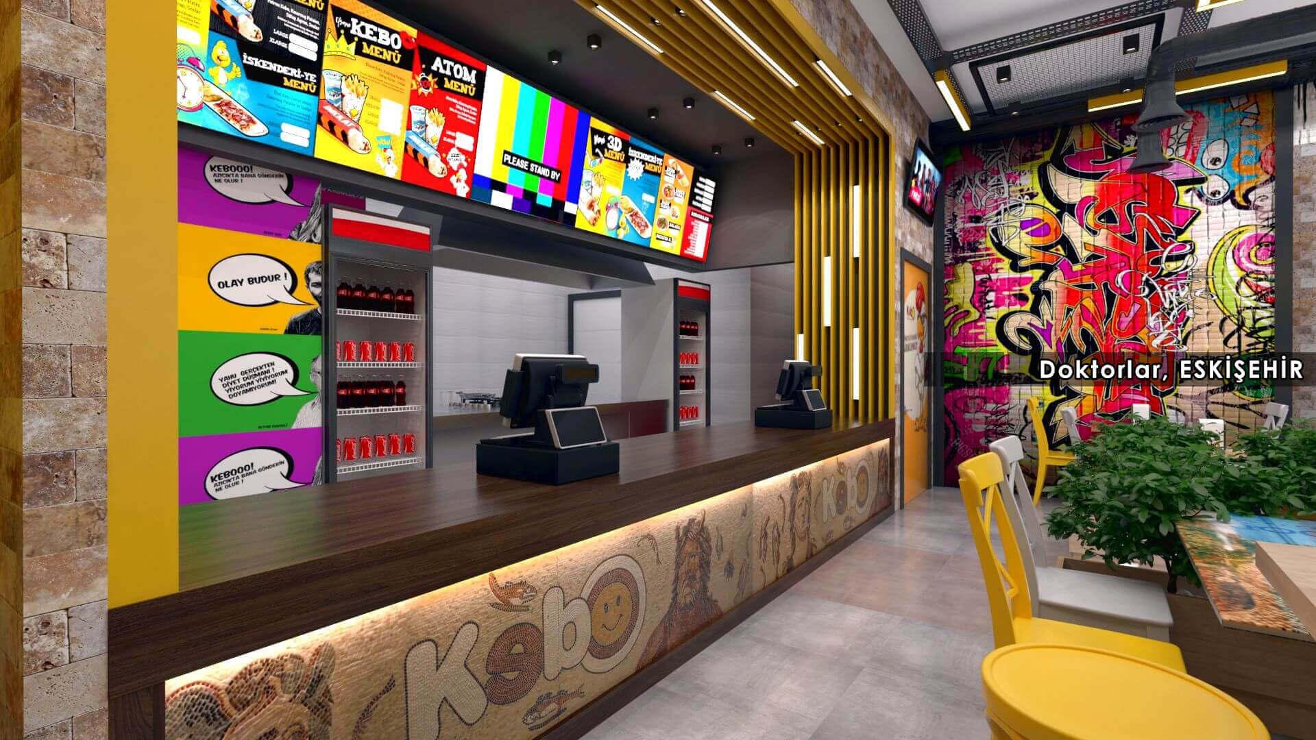 restorant iç tasarım 2122 Kebo 2018 Restoranlar