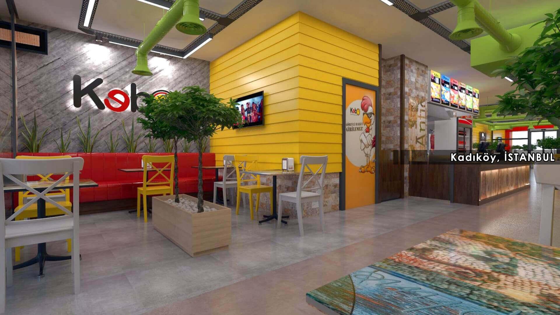 restorant iç mimar 2124 Kebo 2018 Restoranlar