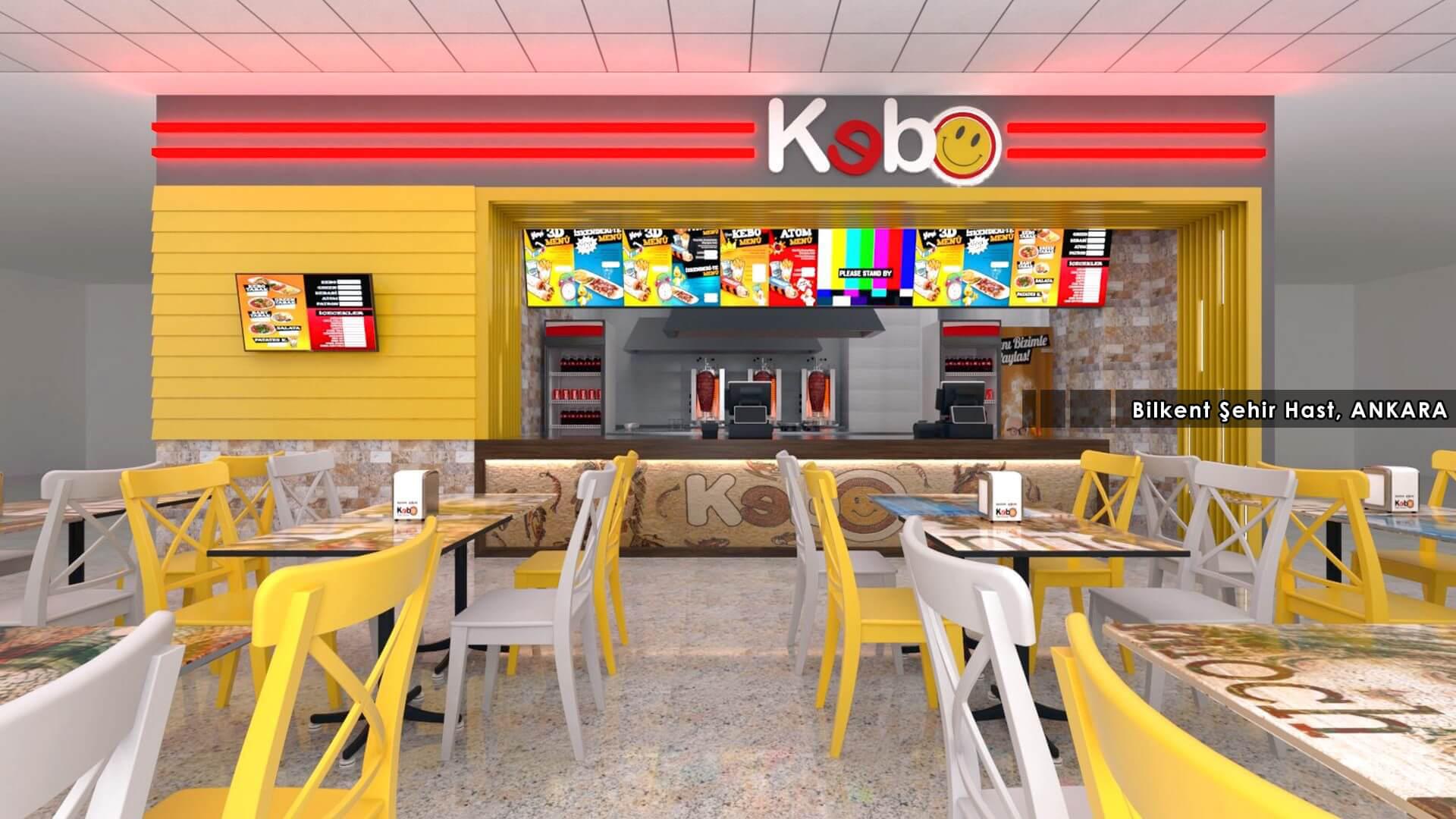 Kebo 2018, Restoranlar