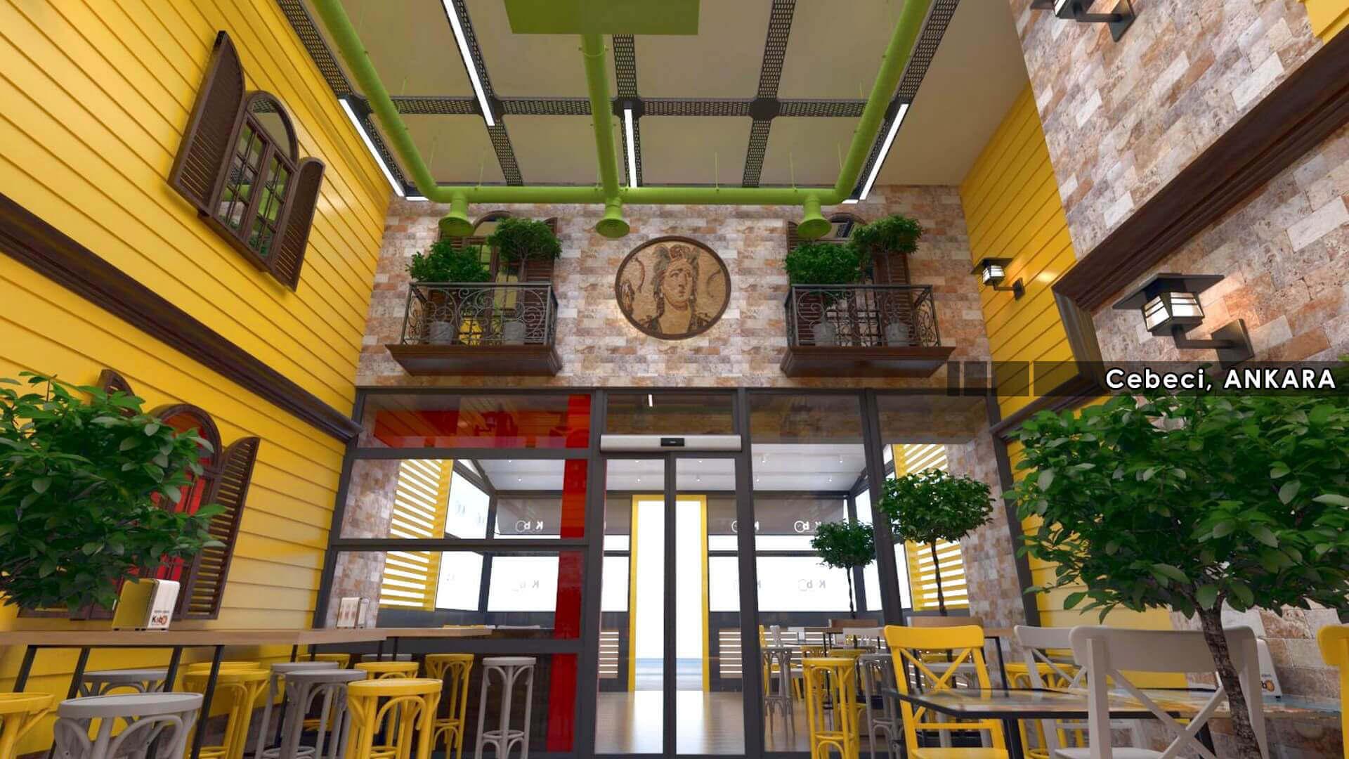 restorant iç mimar 2130 Kebo 2018 Restoranlar