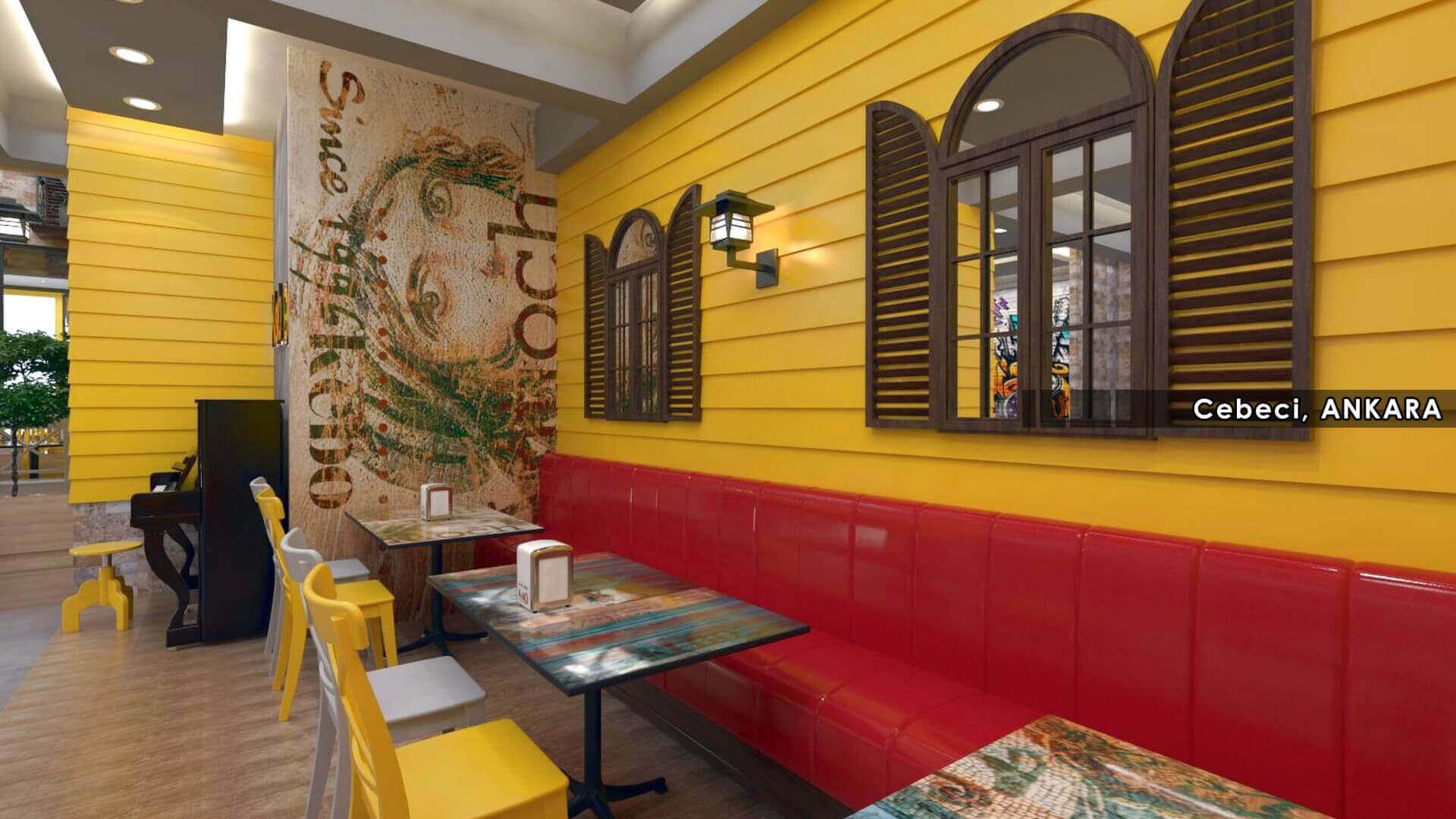 Restoran tasarımı 2131 Kebo 2018 Restoranlar