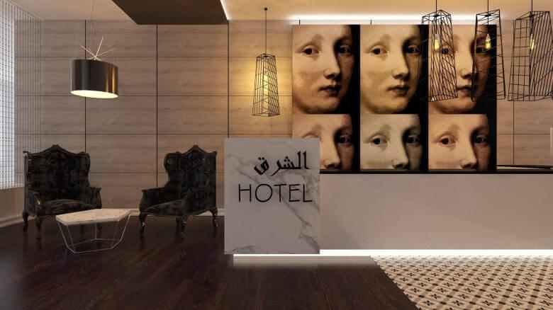tip oda tasarımı 2132 Doğu Hotel, Tahran Oteller