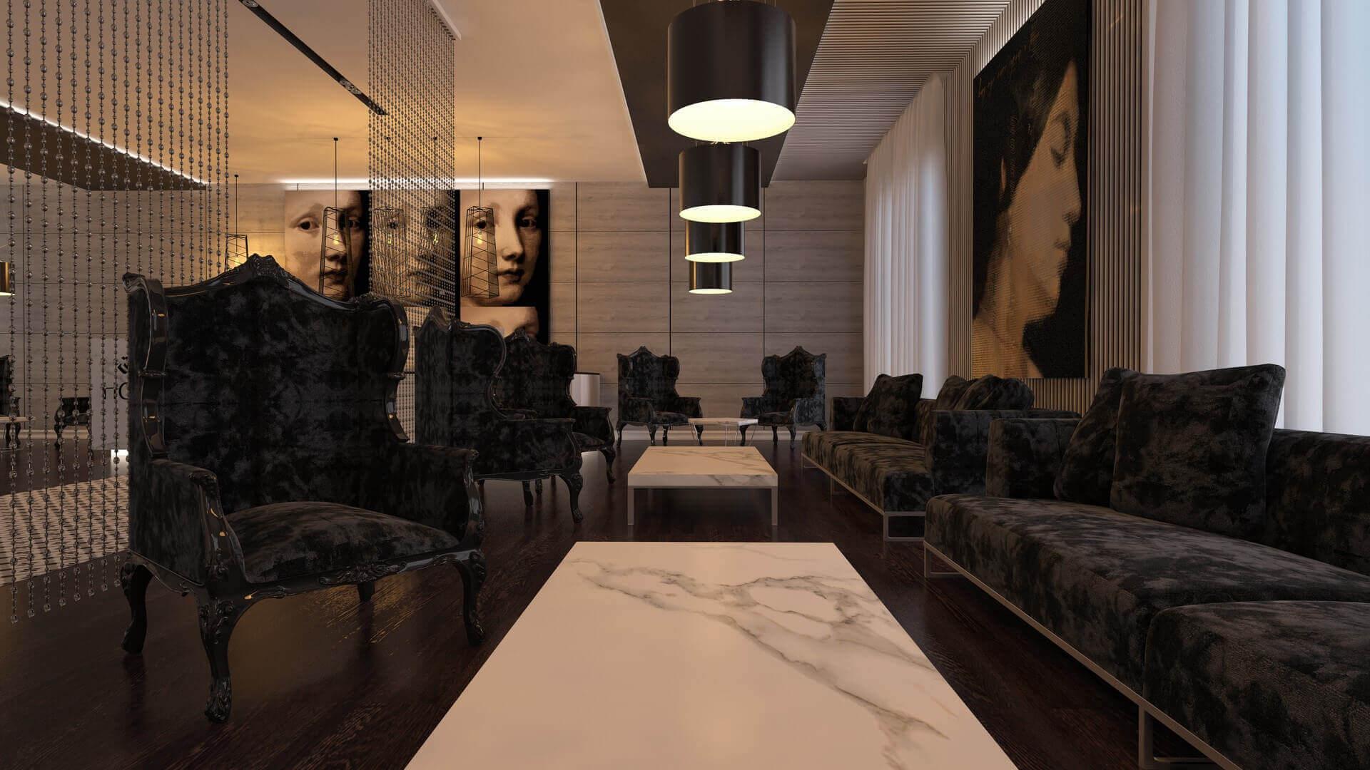 otel tasarımı 2135 Doğu Hotel, Tahran Oteller
