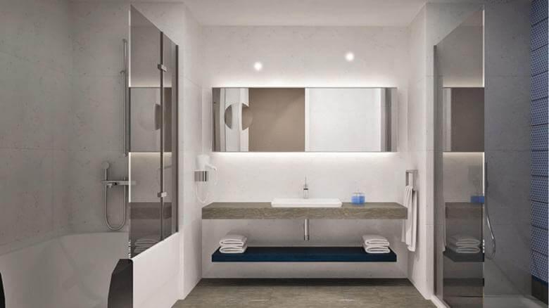 otel odası tasarımı 2140 Erbil Sheraton, IRAK Oteller
