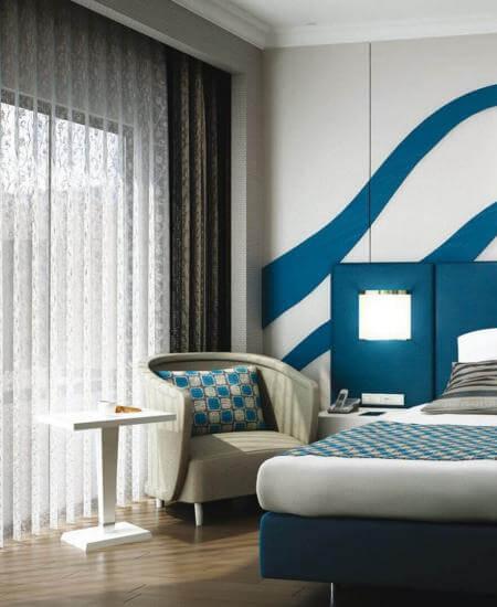 otel odası tasarımı 2142 Erbil Sheraton, IRAK