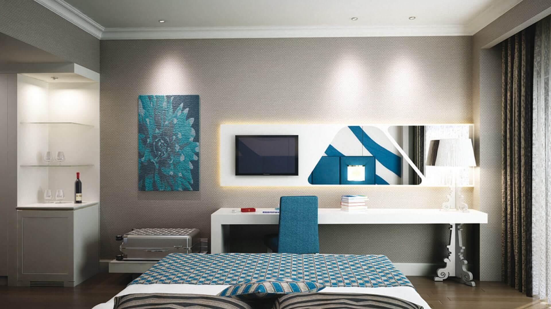 tip oda tasarımı 2144 Erbil Sheraton, IRAK Oteller