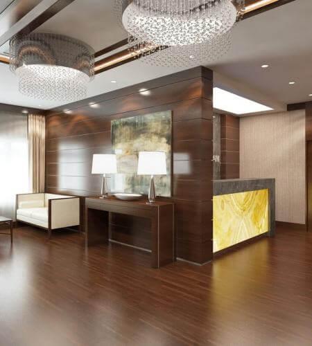 otel odası tasarımı 2148 Öz Orman-İş Sendikası Misafirhanesi
