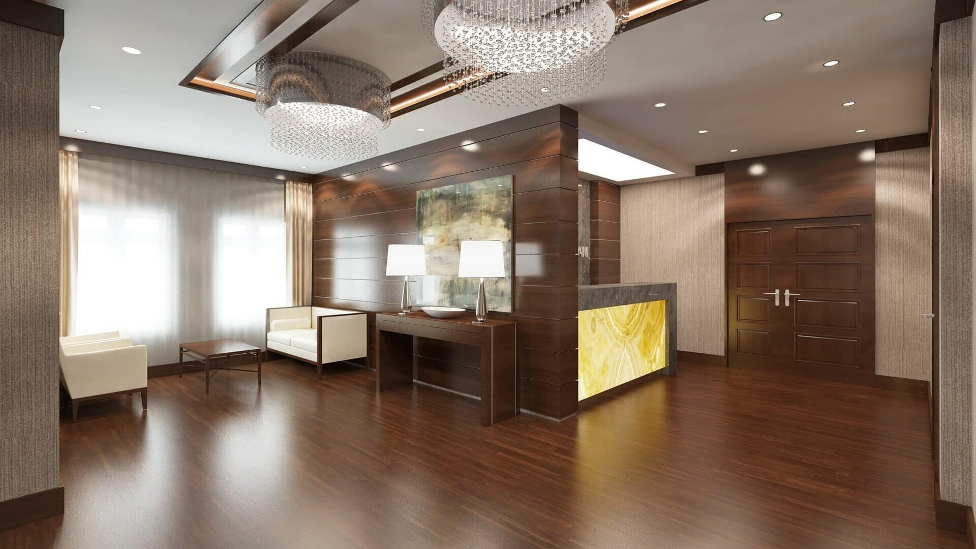 Otel Mimari ve İç Mimari Tasarımları Öz Orman-İş Sendikası Misafirhanesi