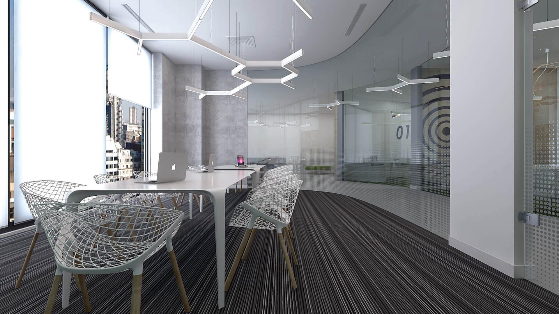 ofis mimari 2158 General Electric Ofisler