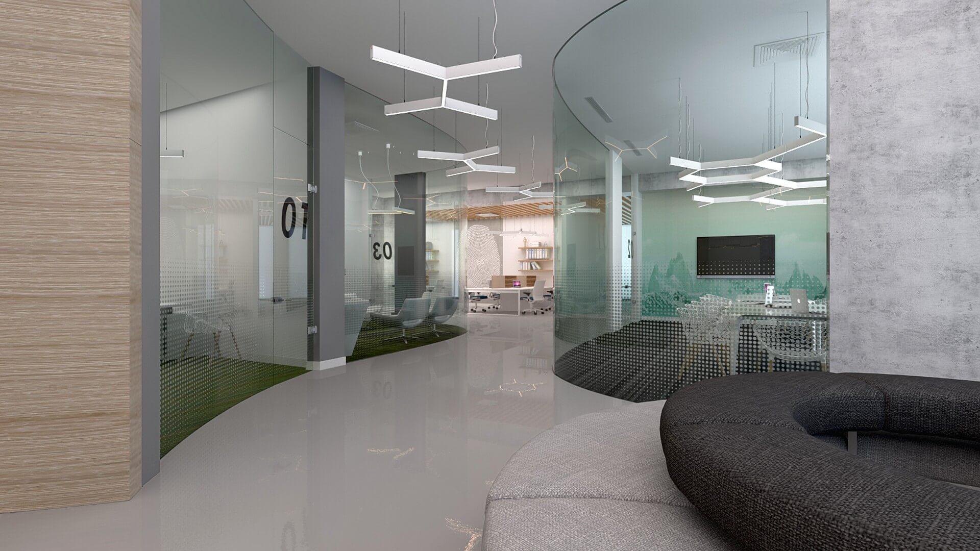 Ofis İç Mimari Dekorasyonu  General Electric