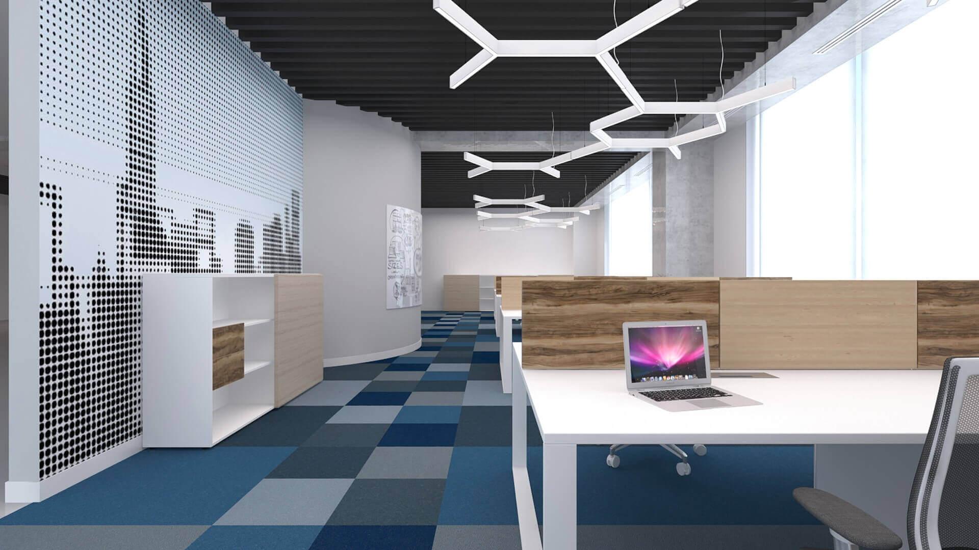 ofis içmimari 2163 General Electric Ofisler