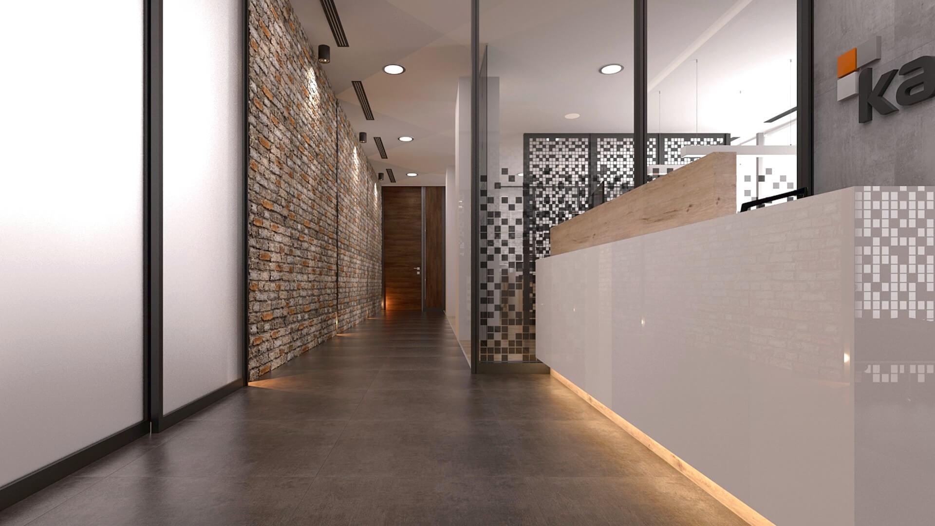 Ofis İç Mimari Dekorasyonu  Karmasis Yazılım