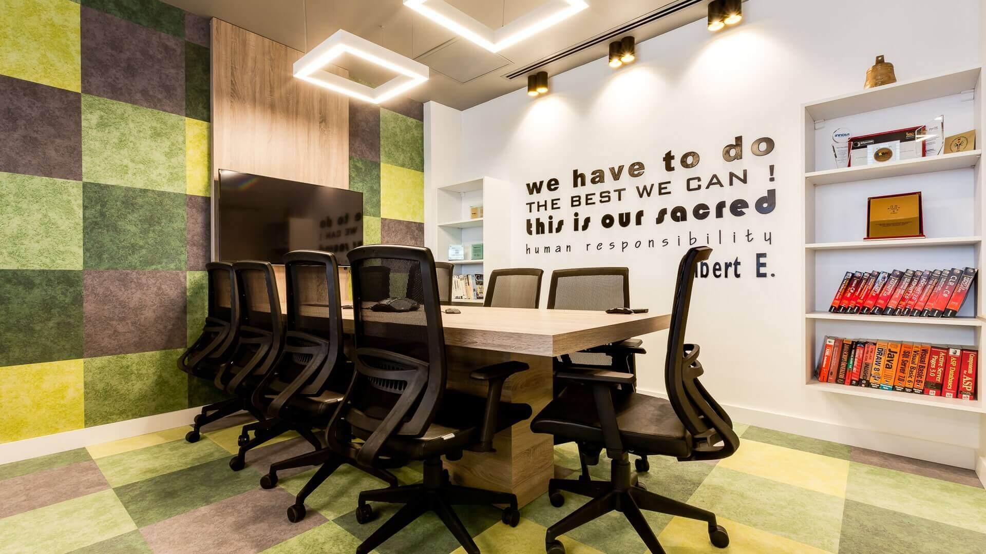 ofis mimari 2182 Kronos Bilişim Ofisler