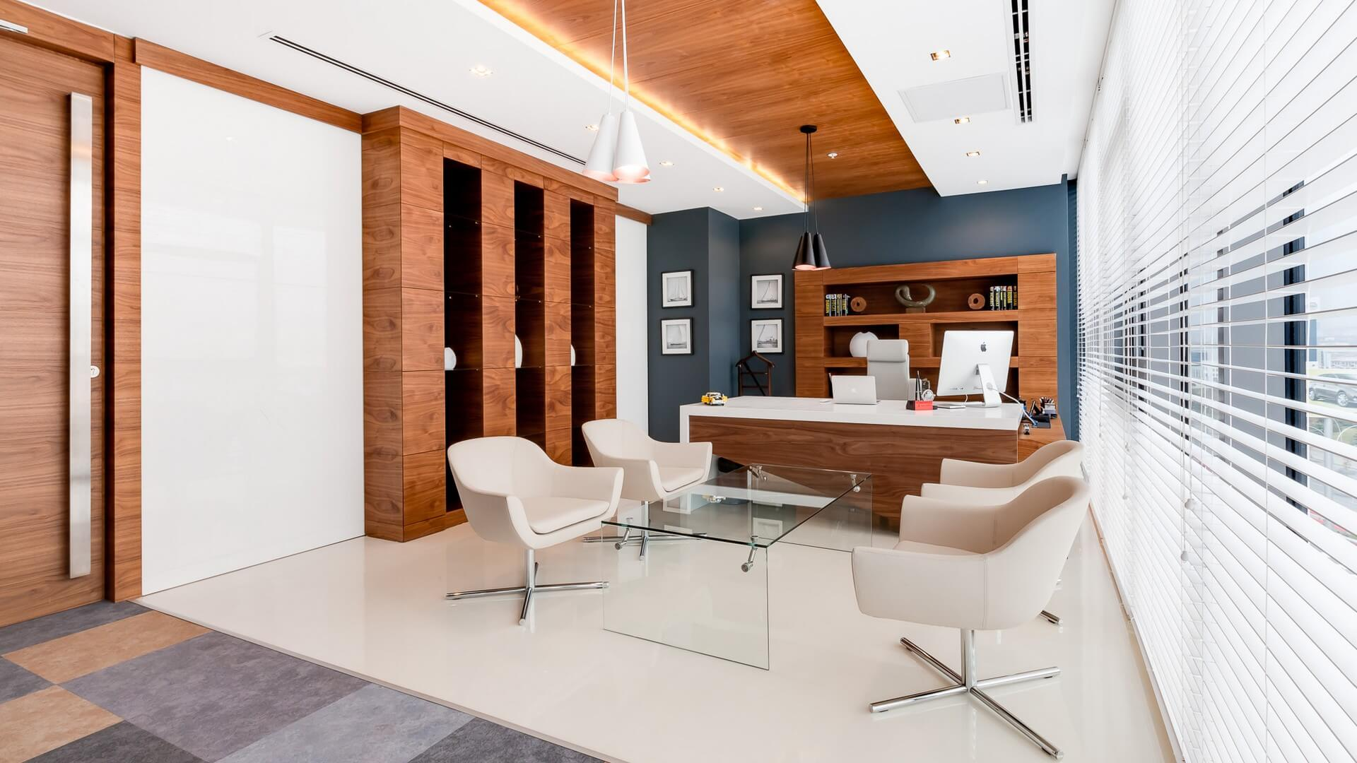 Ofis İç Mimari Dekorasyonu  Kronos Bilişim