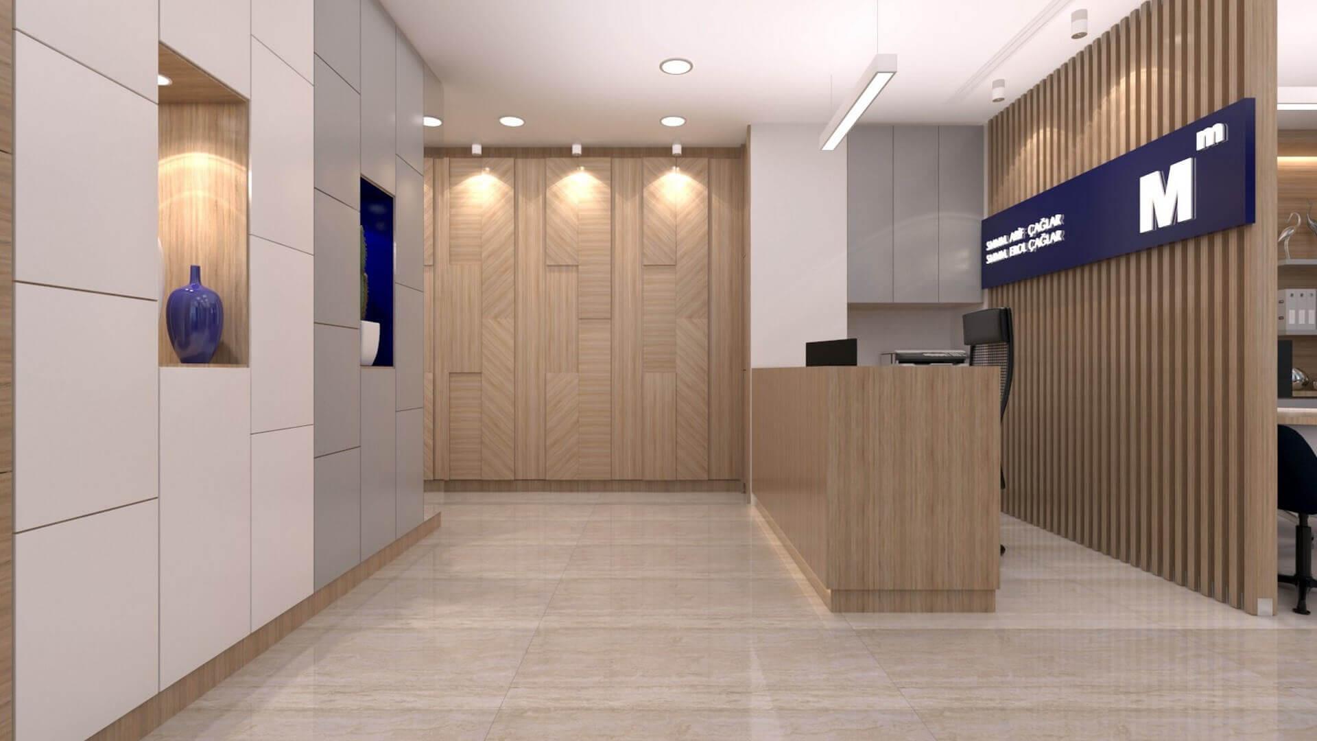 ofis mimari 2228 A. Çağlar SMMM Ofisi Ofisler