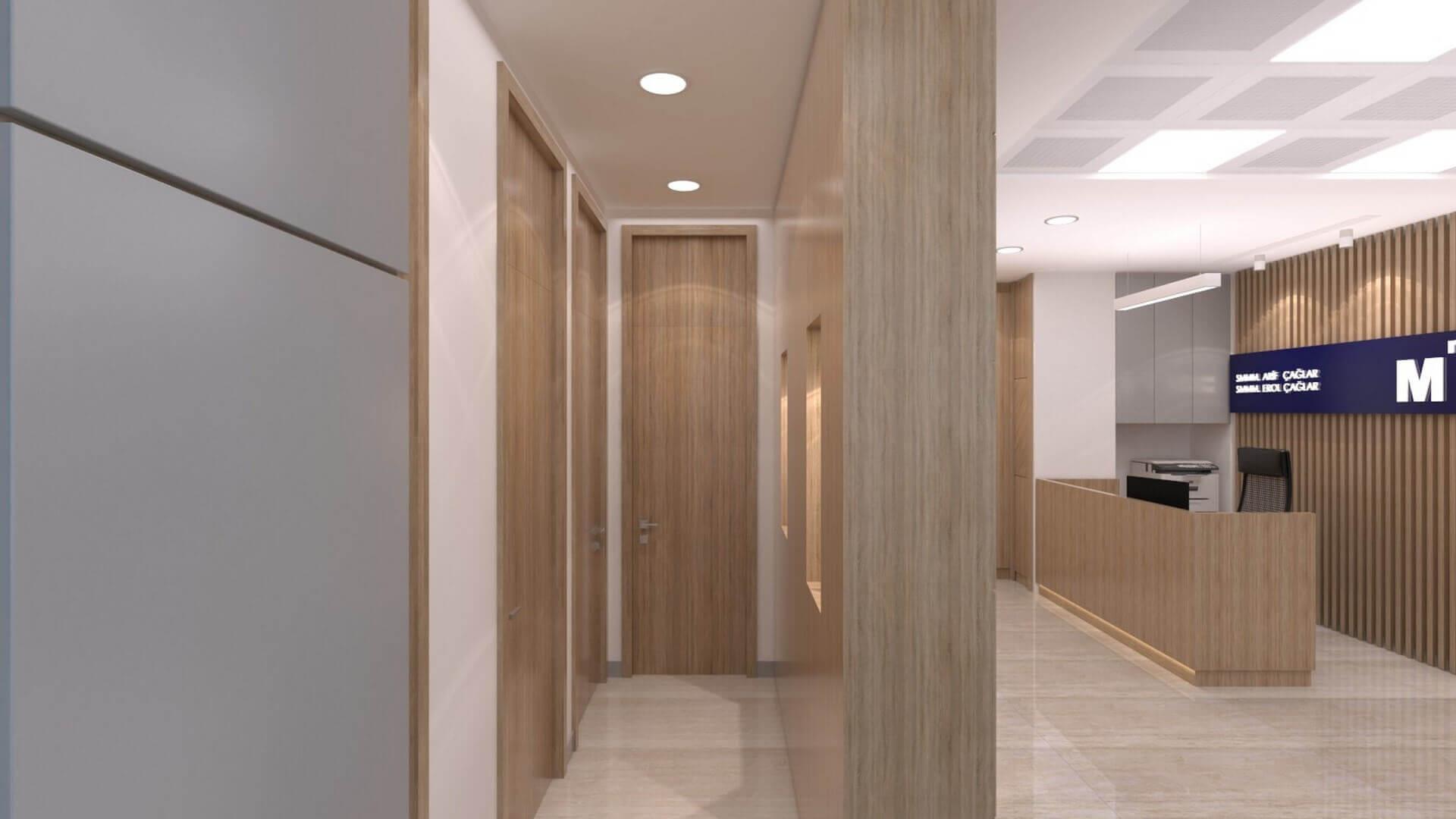 Ankara ofis mimar 2231 A. Çağlar SMMM Ofisi Ofisler
