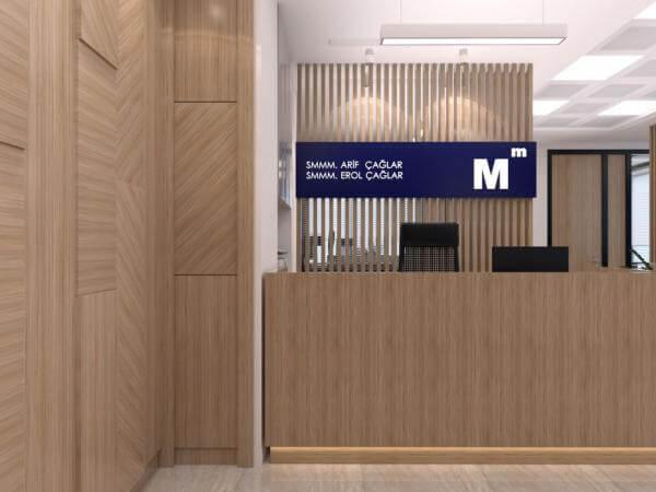 ofis mimari 2234 A. Çağlar SMMM Ofisi