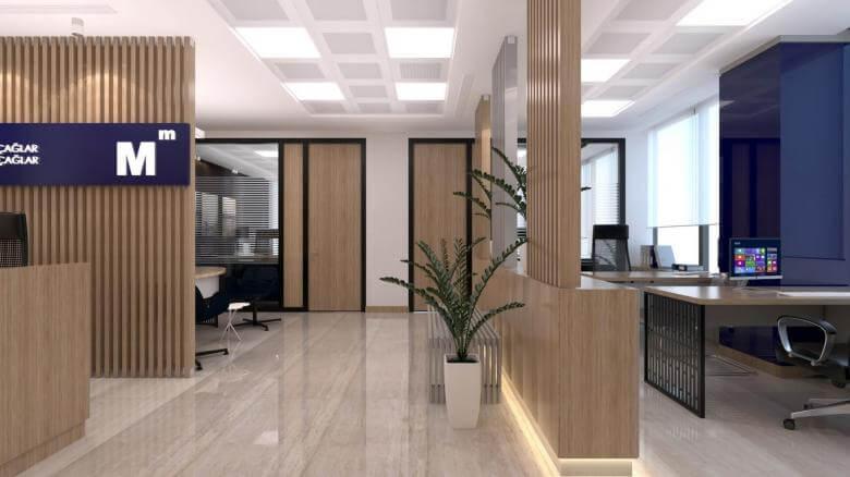 ofis içmimari 2235 A. Çağlar SMMM Ofisi Ofisler