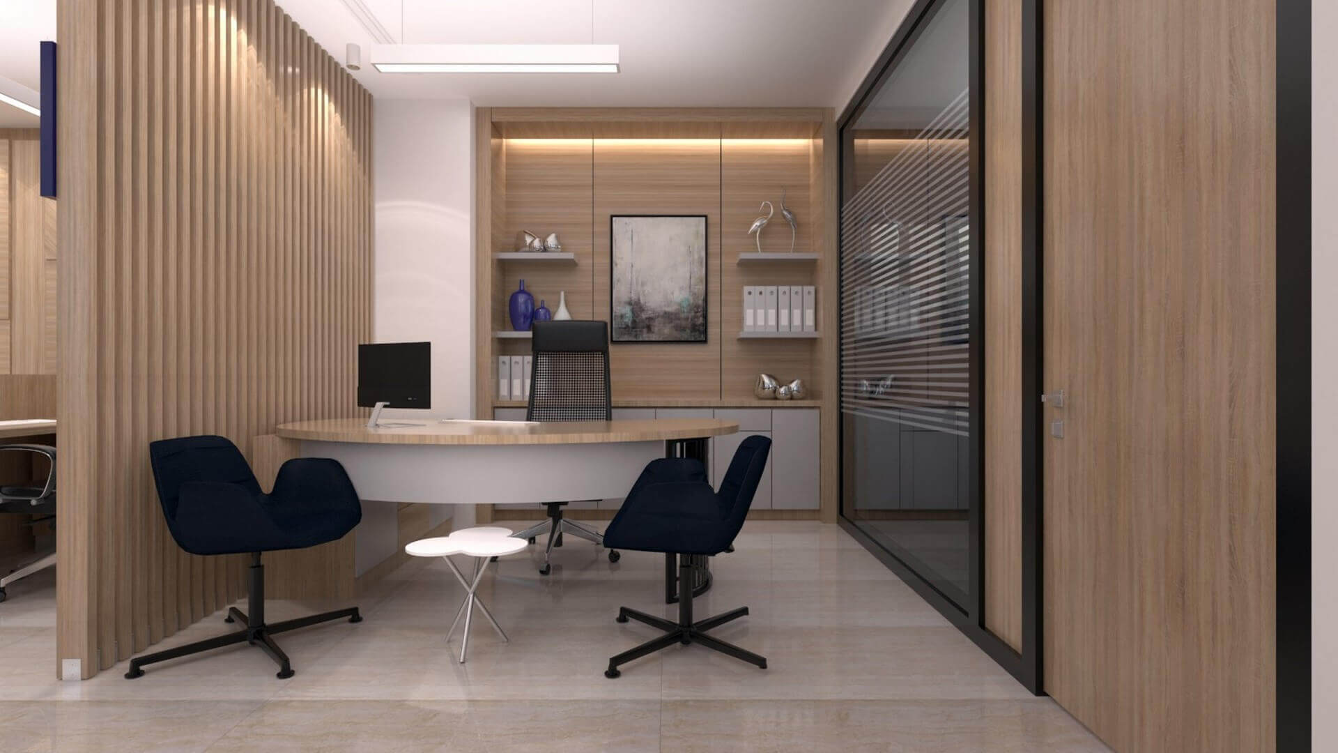 ofis mimari 2236 A. Çağlar SMMM Ofisi Ofisler