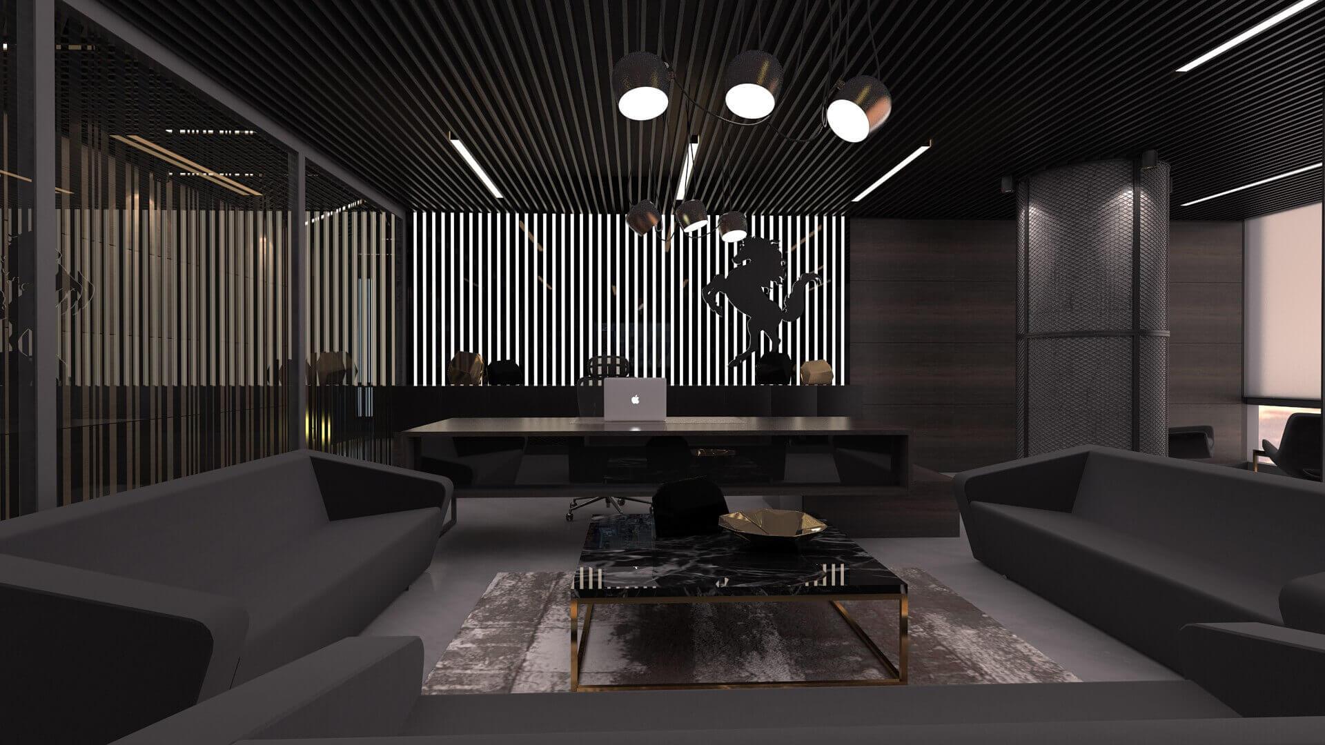ofis dekorasyonu 2275 Bahar İnşaat Ofisler