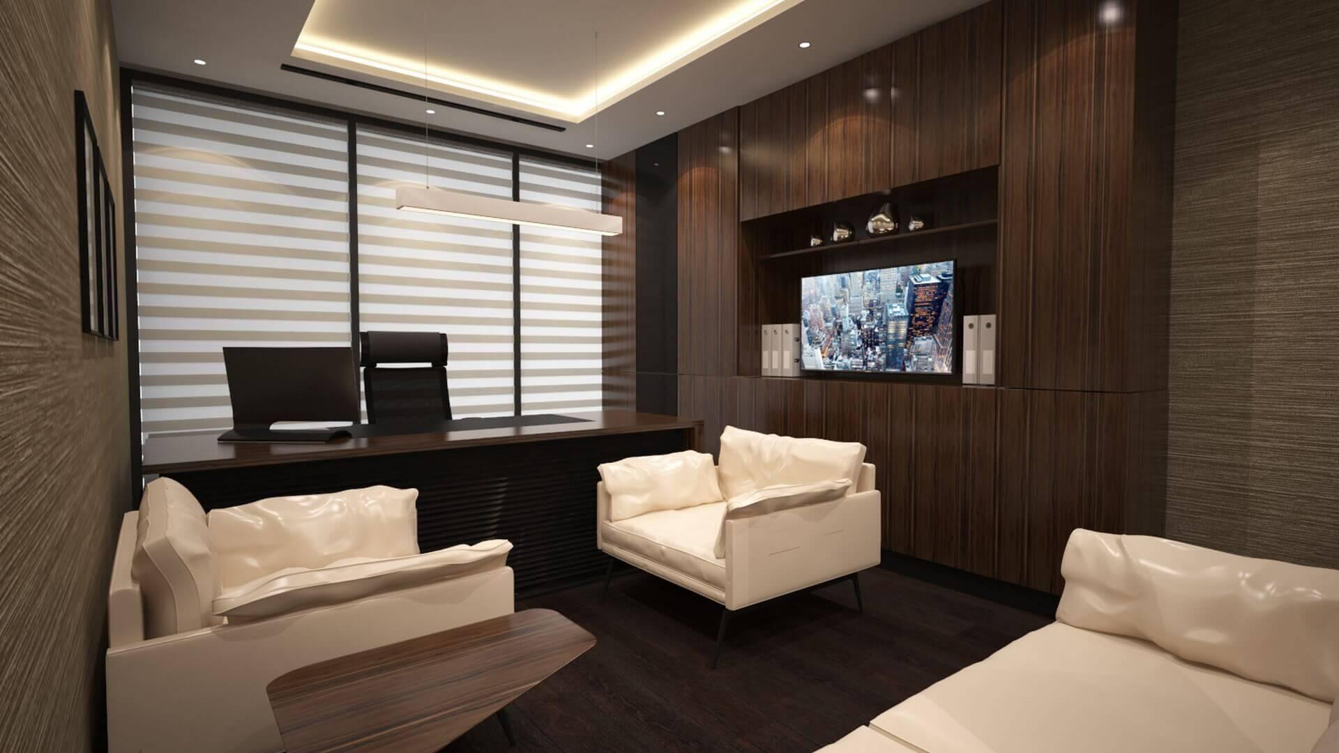 Ankara ofis tasarım 2291 Baysal Hukuk Ofisler