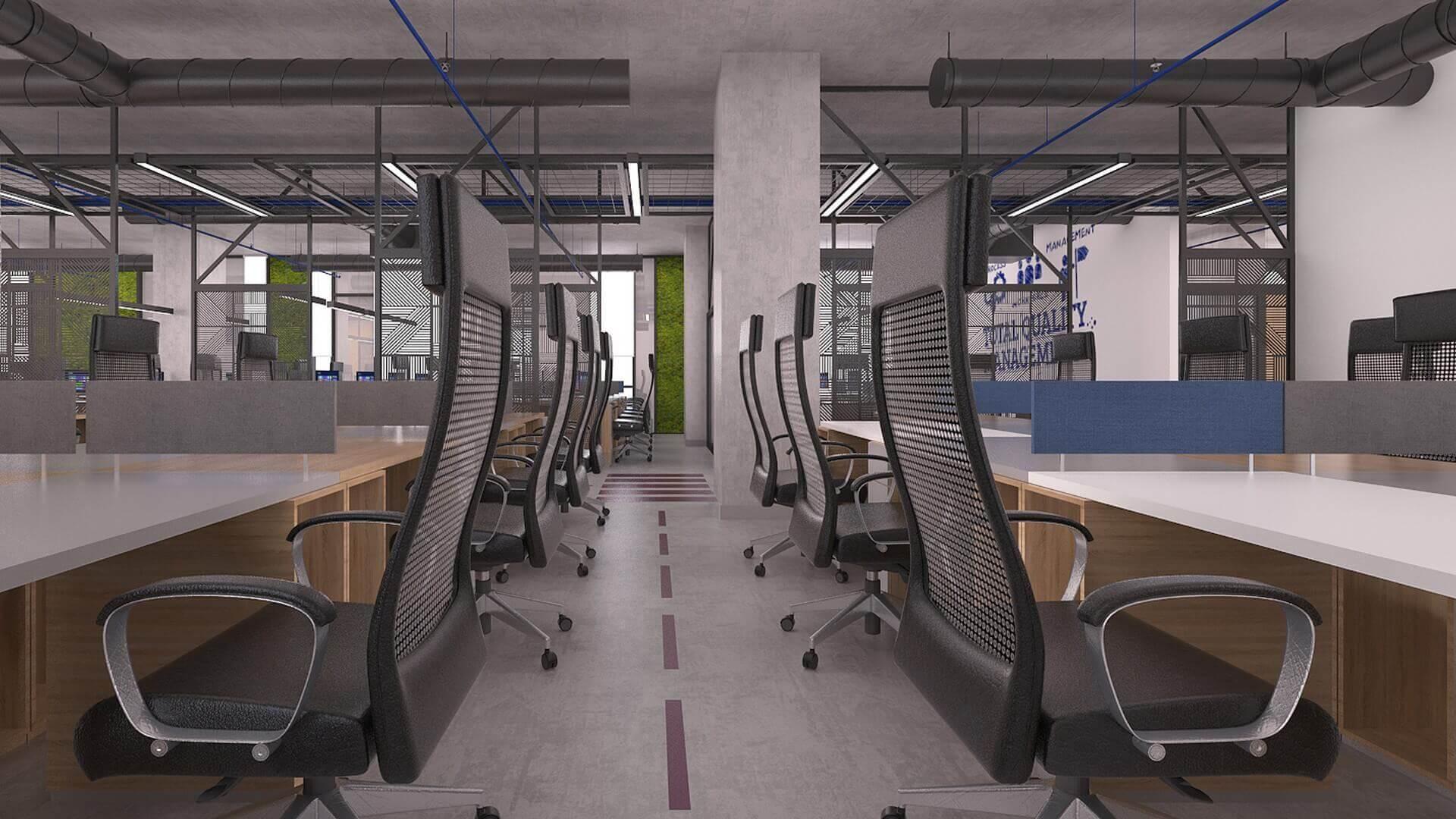 ofis içmimari 2304 Özel proje Ofisler
