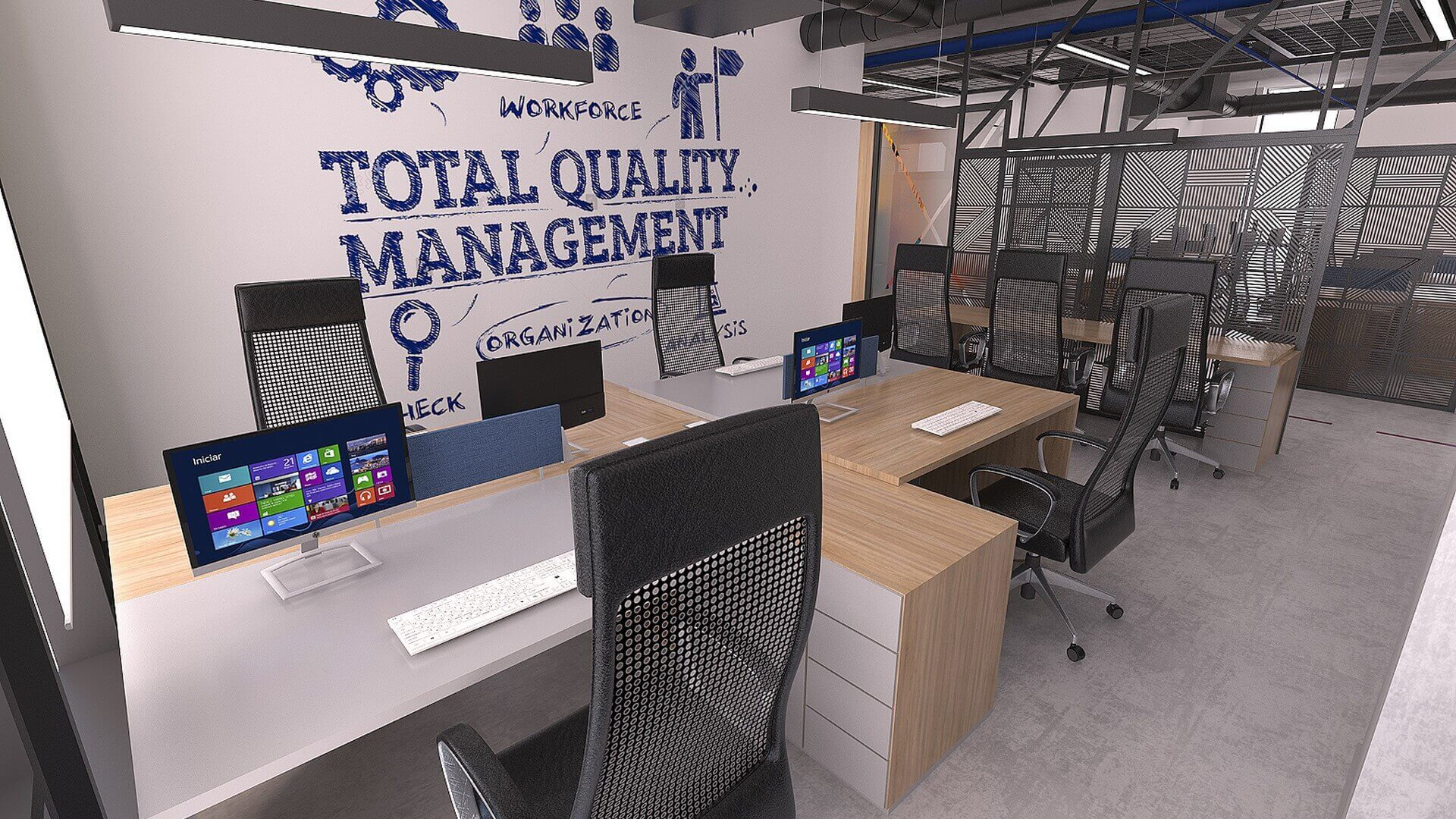 ofis içmimari 2325 Özel proje Ofisler