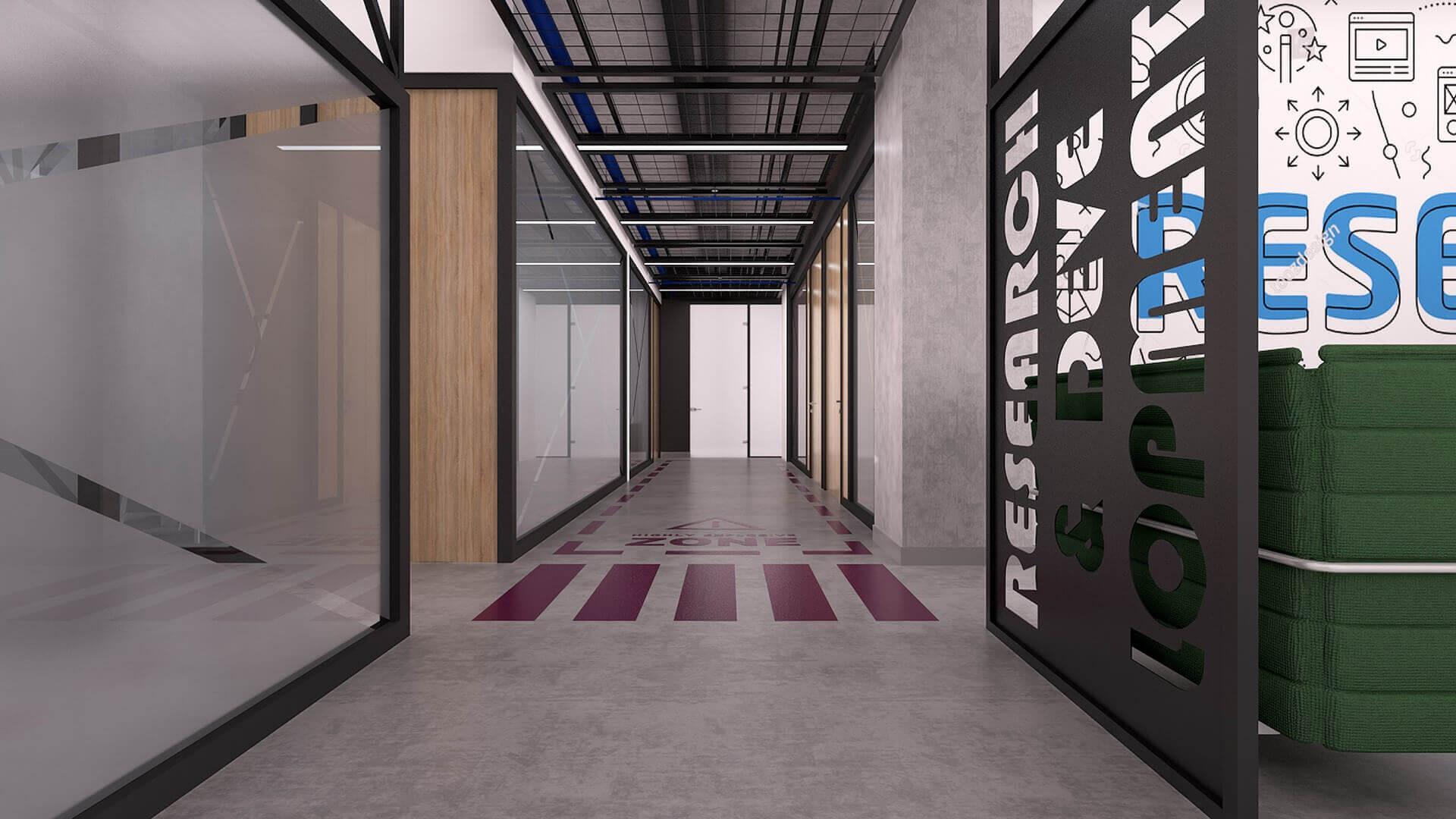 ofis dekorasyonu 2330 Özel proje Ofisler