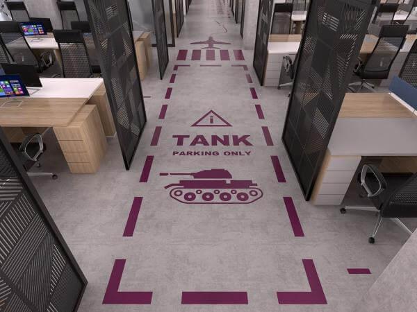 Ufak ofis tasarımları  Özel proje Ofisler