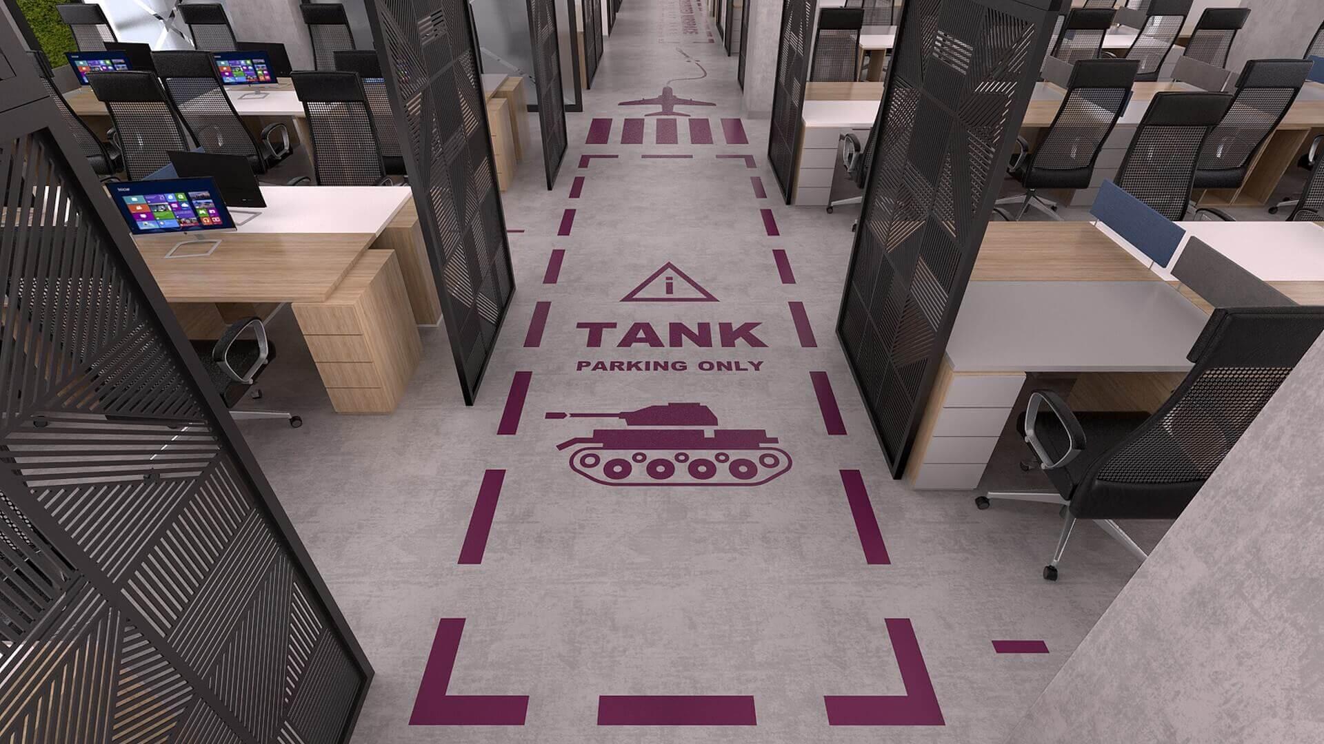 Ankara ofis mimar 2331 Özel proje Ofisler