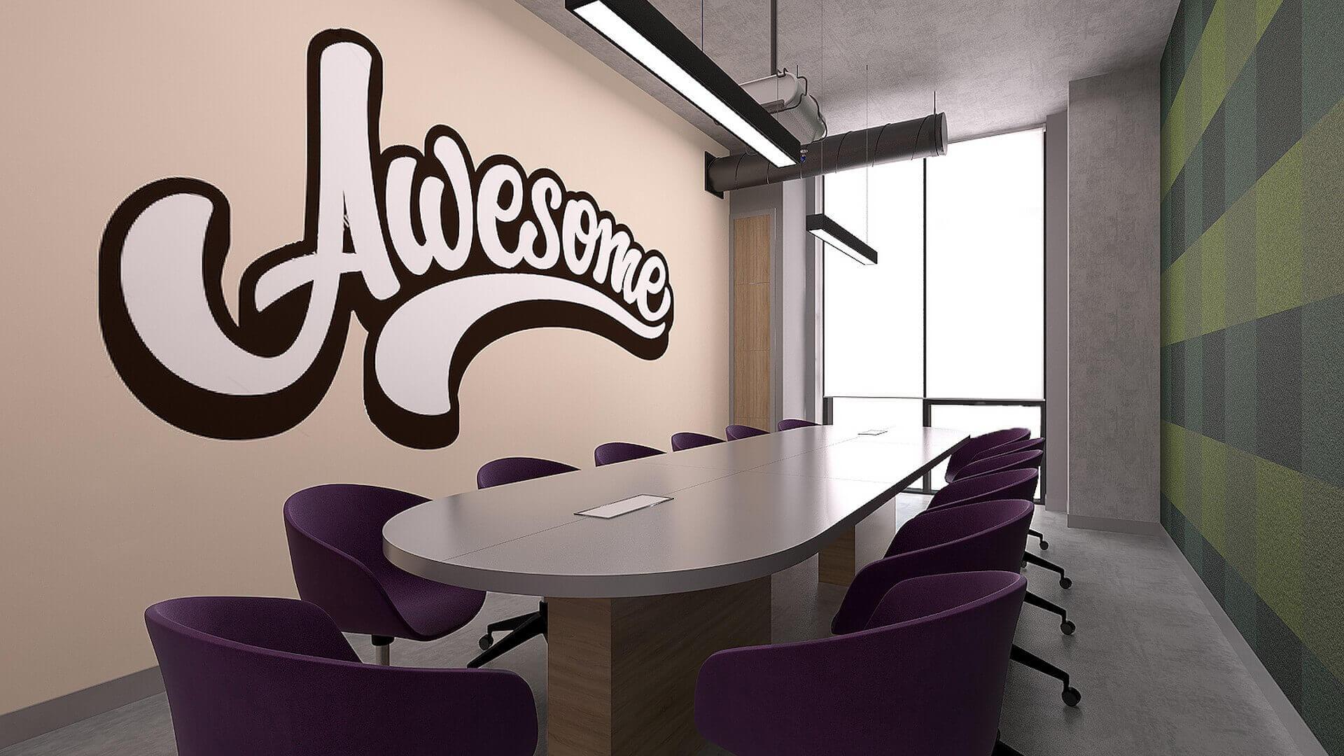 ofis dekorasyonu 2335 Özel proje Ofisler