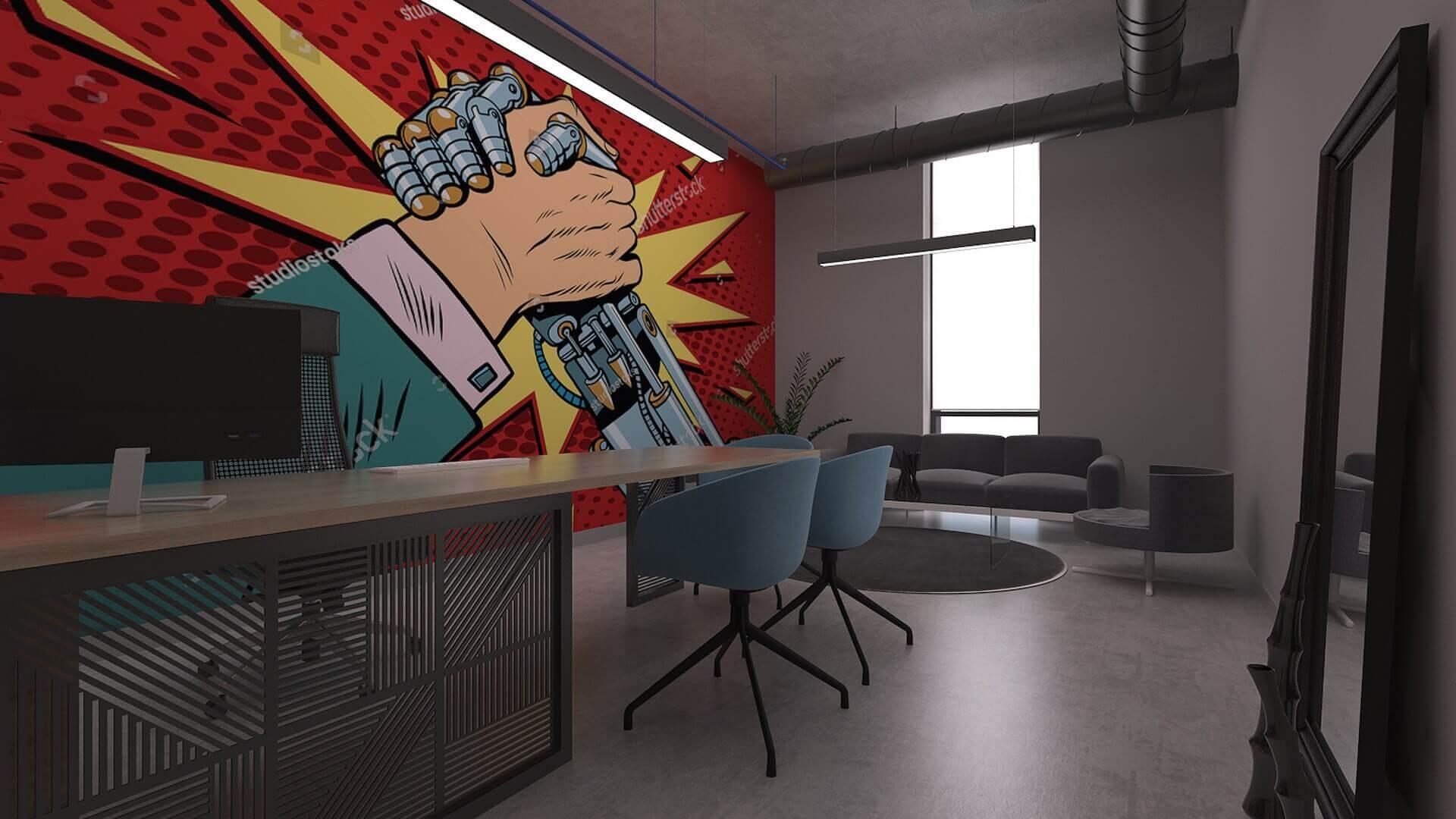 ofis içmimari 2337 Özel proje Ofisler