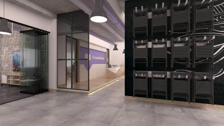 Cyberpark 2338 Connected2.me C2M Bilişim Ofisler