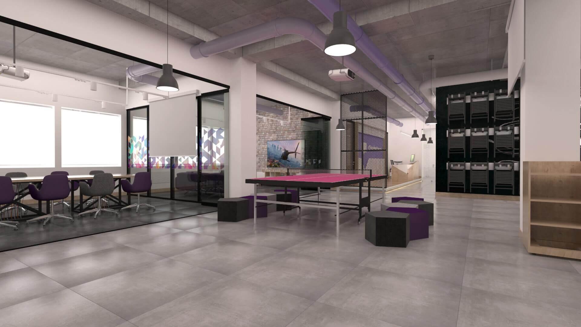 ofis dekorasyonu 2350 Connected2.me C2M Bilişim Ofisler